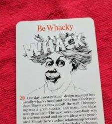 "Why ""Be Wacky"" Isn't Such a Crazy Idea"